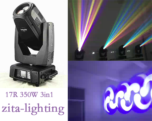 17R 350W 3in1 Spot/Wash/Beam Moving head light