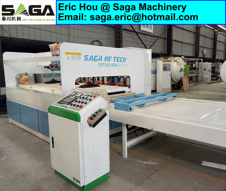 HF Wood Finger Joint Machine High Frequency Laminate Hot Press Machine