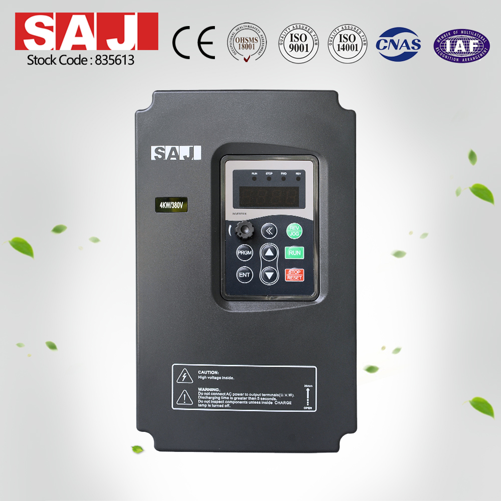 SAJ 380V 1.5KW 2.0HP Frequency Inverter for Building material mining processing