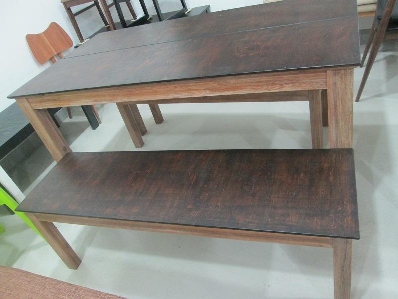 Walnut dinning furniture set