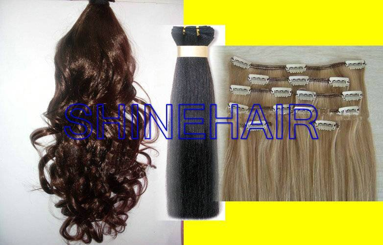 hand made skin weft, PU extension