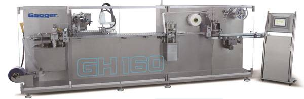 GH Series Full servo blister packing machine