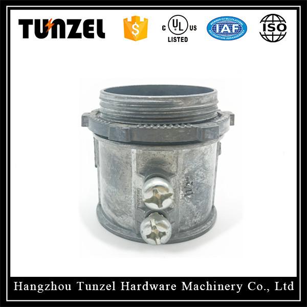 Zinc die cast/Aluminum set screw type EMT CONNECTORS