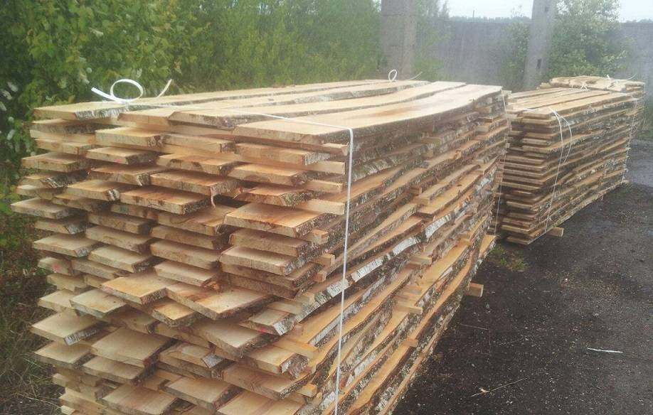European Birch and Oak Edged and unedged lumber Available with good prices