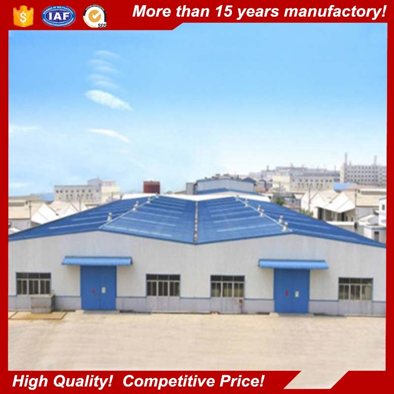 2017 new design structure steel manufacture steel structure workshop building