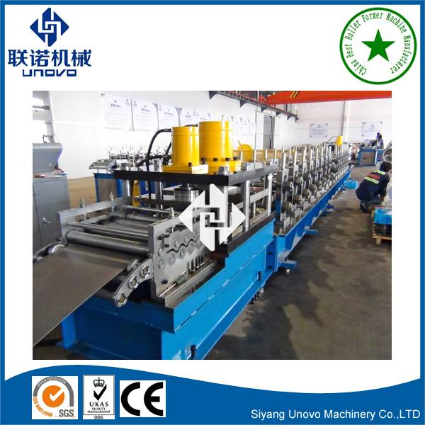 Chinese manufacturer highway guardrail roll forming machine
