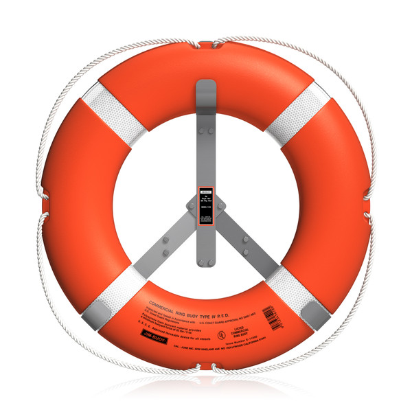SOLAS orange 2.5 and 4.3kg life buoy for marine survival