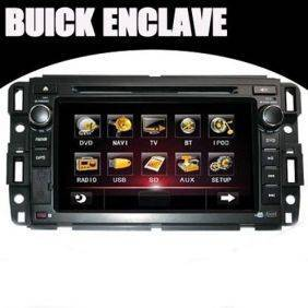 Buick Enclave 7.0 inch HD Digital Touch Screen Car DVD Player with GPS + TV + RDS