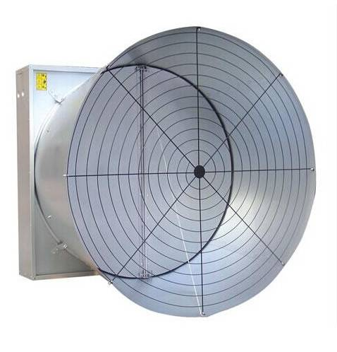wall mounted cone fan big greenhouse fan