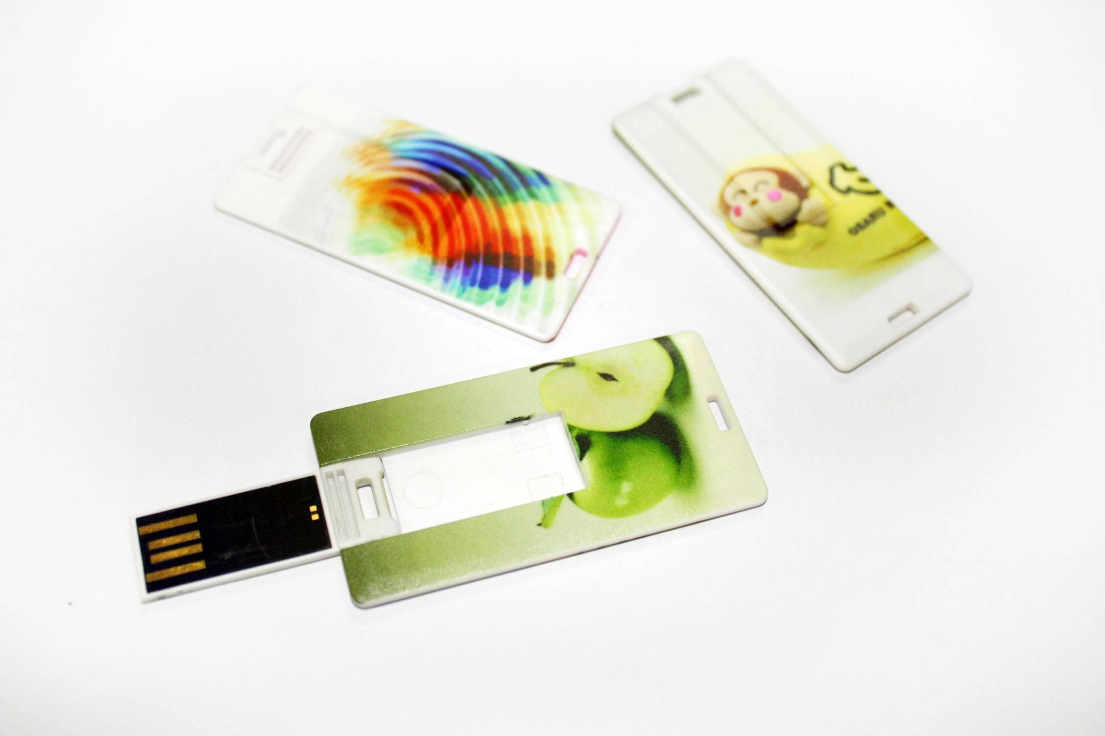Credit Card-shaped USB Flash Drives