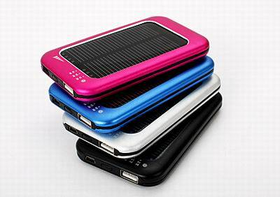 portable solar Mobile charger, power bank
