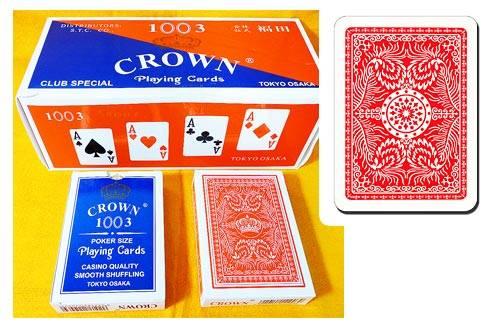 CROWN Premium Playing Card 1003