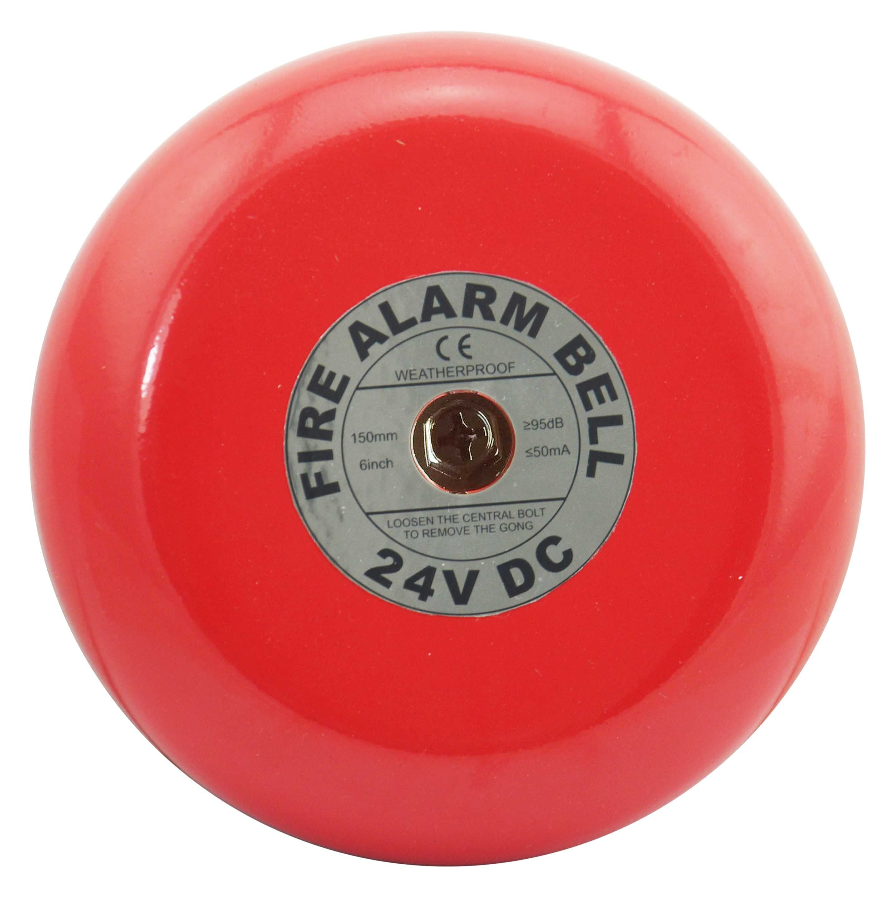 6 inch Conventional fire alarm fire bell