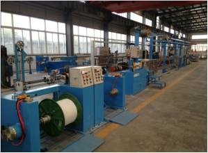Fuchuan® FC-40 Electrical wire, power wire extruder line with high performance