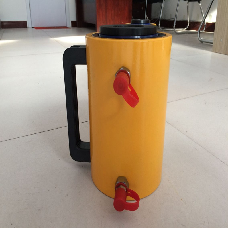 Dezhou Taigao Double Acting Double Action Hollow Electric Hydraulic Cylinder Ram