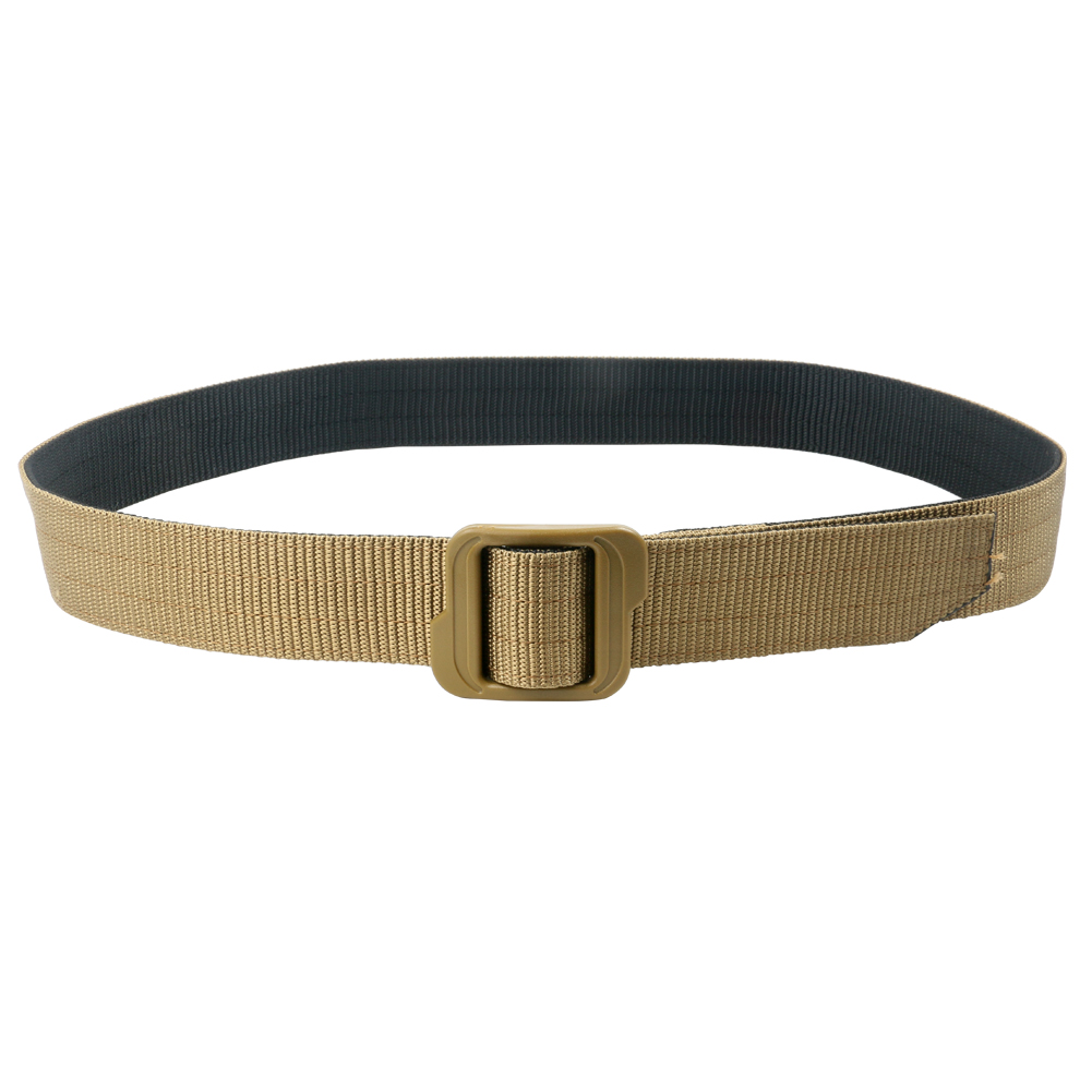 high quality double-layer tactical belt military/army/poliece nylon webbing duty belt with metal/pol