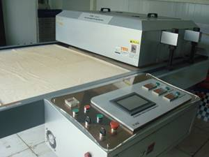Hydraulic thermal transfer printing machine