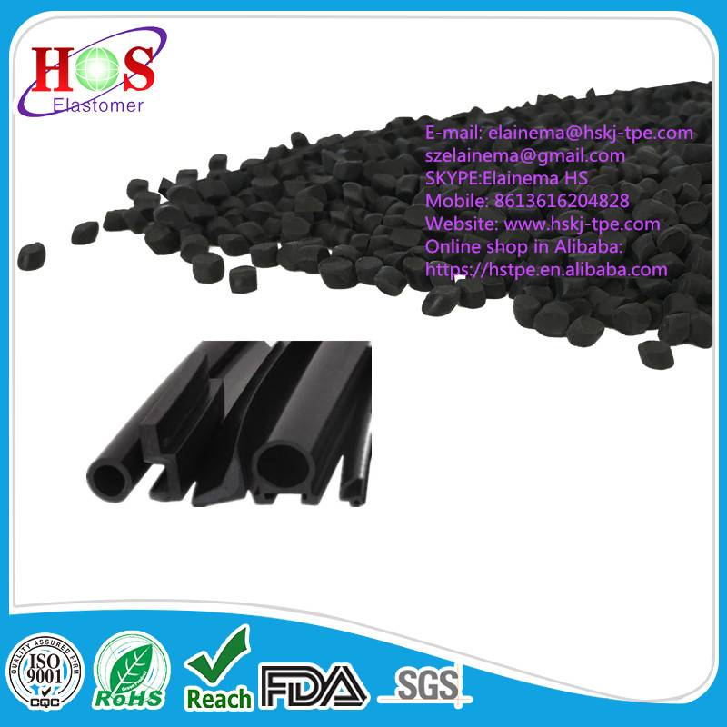 rubber plastic TPE granule for machinery seals, window & door seals