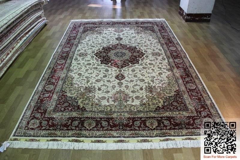Factory Price Silk Handmade Carpets Oriental Rug