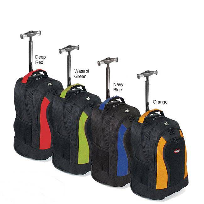trolley backpack with many colors