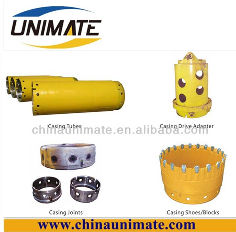 casing pipe,casing oscillator, tubing casing for piling