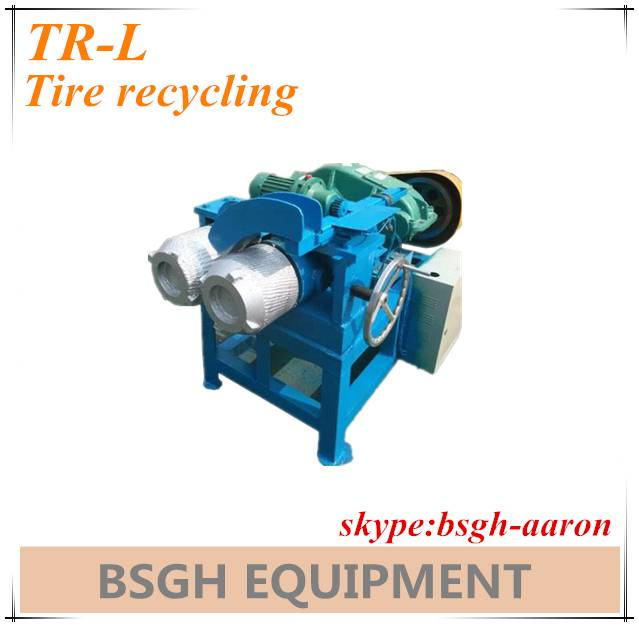 scrap used tire steel wire recycling machine TR-L