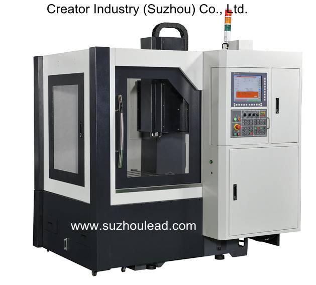 Metal engraving CNC vertical machine center