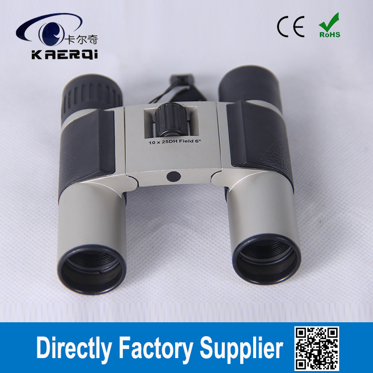 Powerful 10x magnification Compact , roof prisms Binoculars