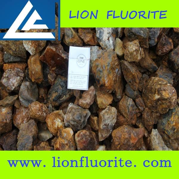Fluorite Mine Owner CaF2 75% 80% Fluorspar Lumps