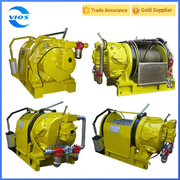 Pneumatic air winch 10 ton made in china/motor winch/air winch
