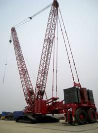 Manitowoc M18000/ 750 ton crawler crane