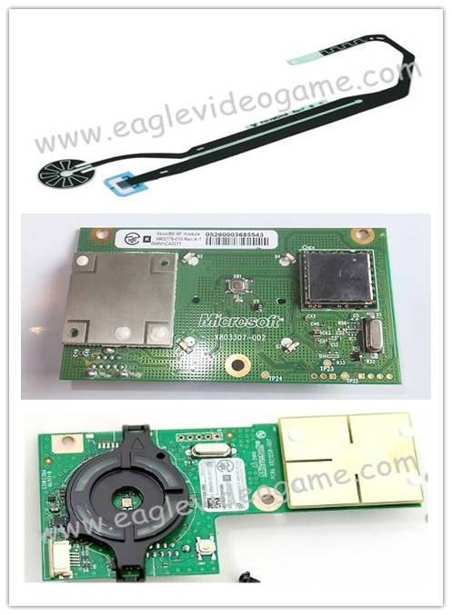 XBOX360 Slim Replacement and Repair Parts Power Switch Board&Power Switch Ribbon Flex Cable for Xbox