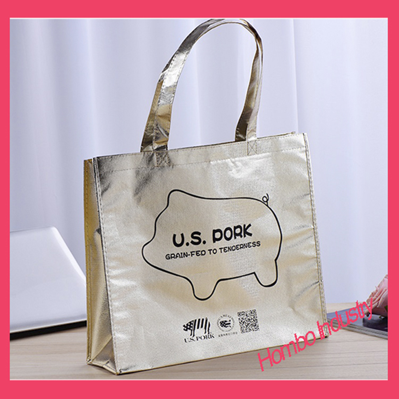 Promotional Shopping Tote Bag Non Woven Bag