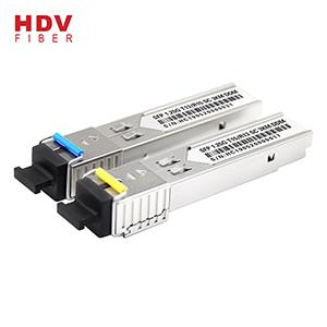 3Km 1.25G Fiber Optic SC Connector Bidi Wtd Sfp Transceiver Module Compatible Huawei