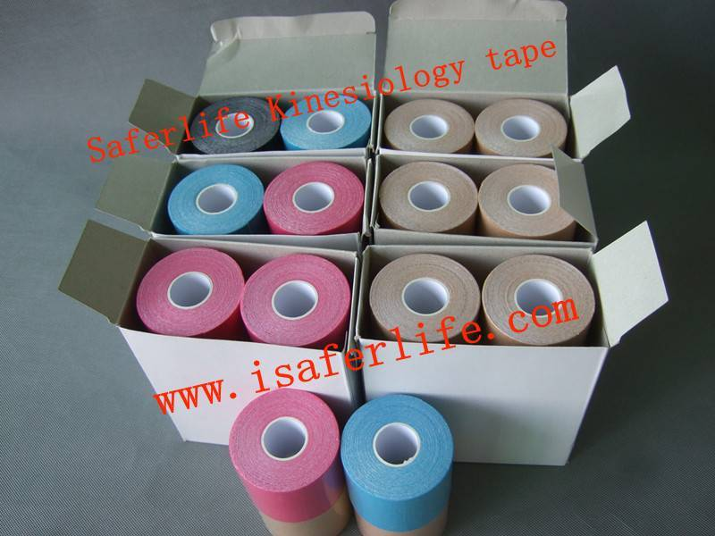 Physiotherapy tape by Kinesio tapping technic compare to Kinesio tex
