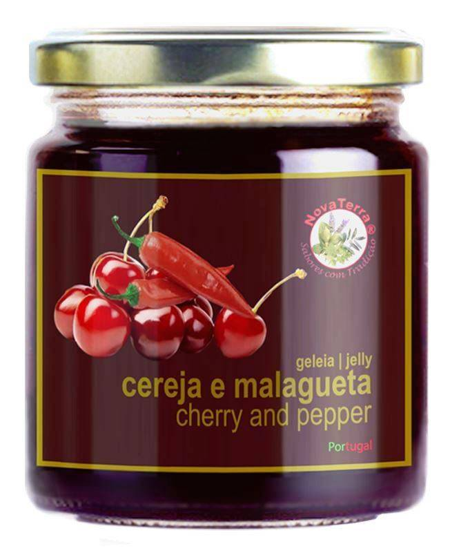 Cherry and pepper jelly