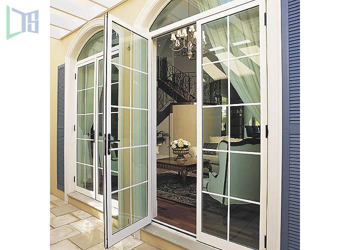 Aluminium Casement Doors/aluminum double glazed doors comply with Australian standards & New Zealand