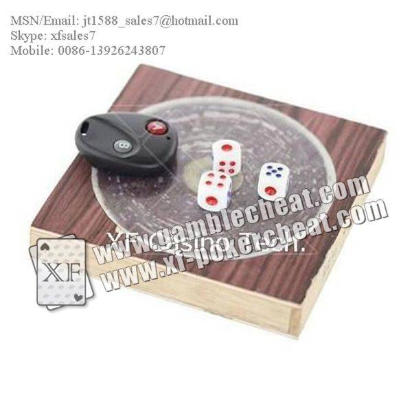 XF Remote Control Dice|No Magnet Dice/poker analyzer/poker cheat/contact lens/infrared lens