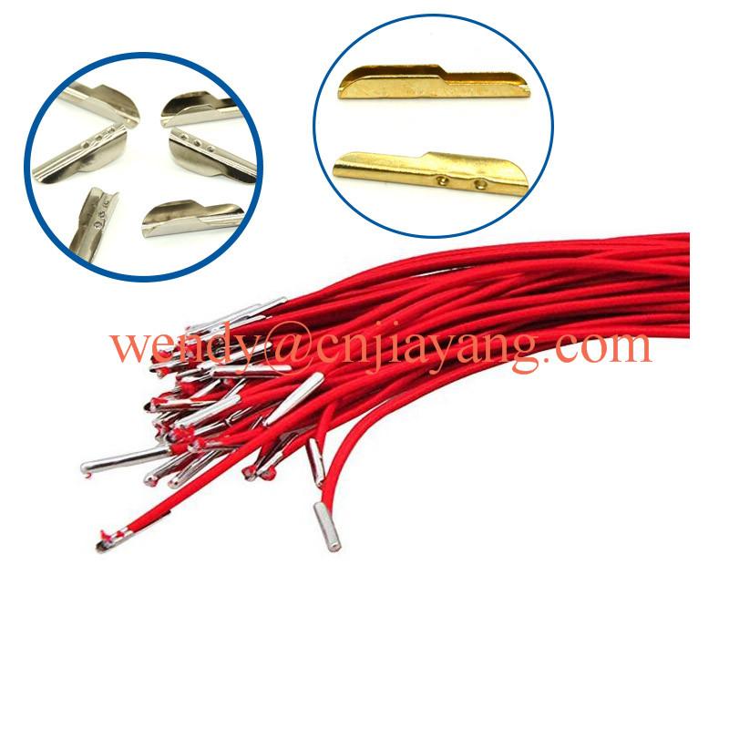 cheap price bulk wholesale metal barb T tip for elastic cord