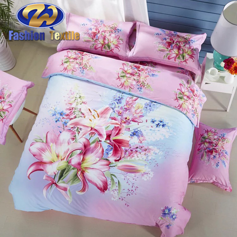 100% cotton 3d duvet cover sets