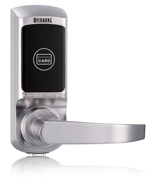 Smart intelligent induction card door lock for hotel office home