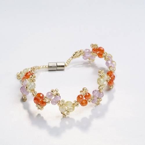 selling gemstone bracelet   jyl05
