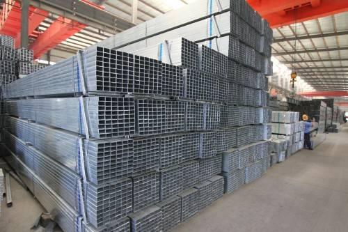 galvanized square pipe, galvanizing square pipe, zin coating square pipe, galvanized rectangular pip