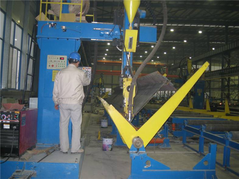 Single Cantilever type H-beam Automatic Welding Machine