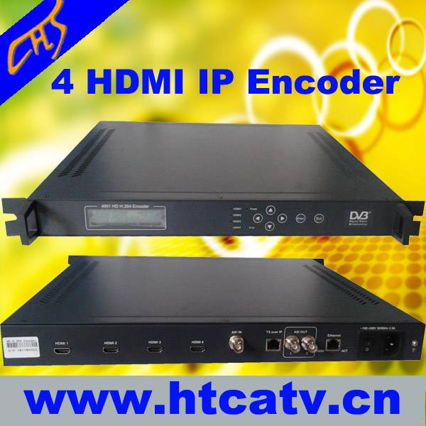 4in1 HDMI H.264 HD ecoder