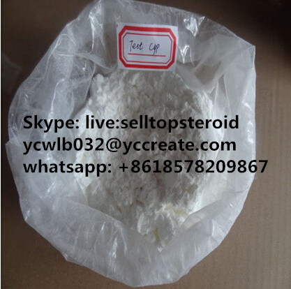 Muscle Building Anabolic Steroid Raw Powder Testosterone Cypionate 58-20-8