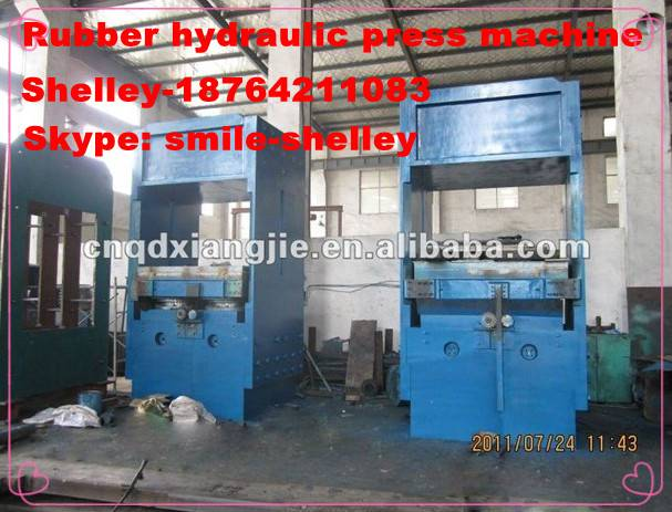 hydraulic press bending vulcanizing machine