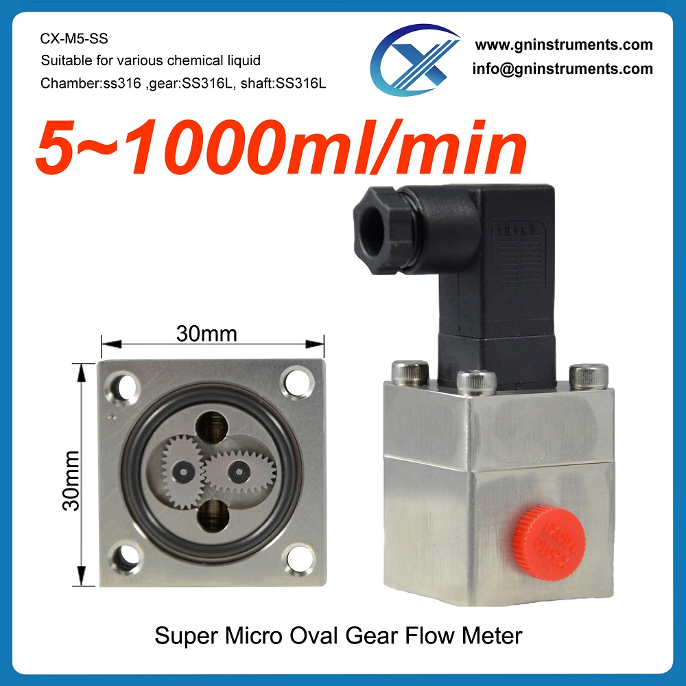 3 year No complaint water mini low micro flow meter