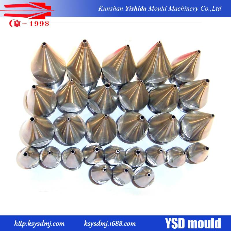 customized made tungsten steel extrusion tips