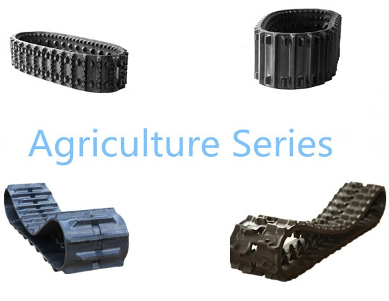 Rubber track Kubota agriculture harvester replacement parts